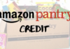 Amazon Pantry Credit