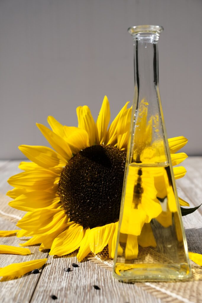 sunflower-massage-oil