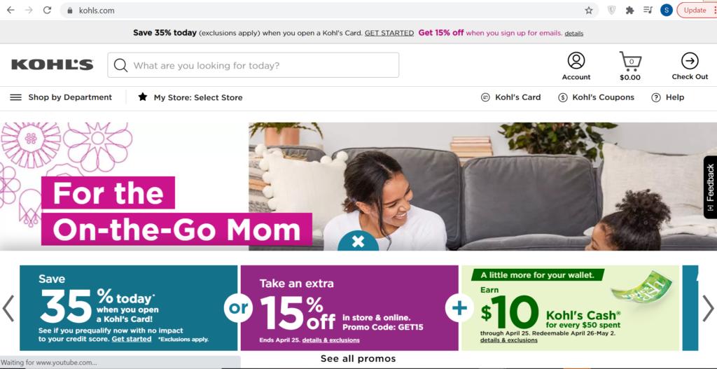 Kohls-online-store